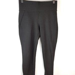 Brass black cropped pants